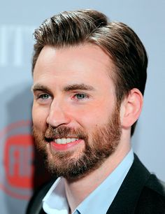 Chris Evans | Seems like such a sweet guy <3<3<3 -B.R.