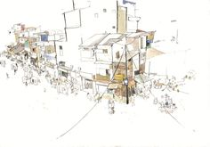 George Butler Repotage Illustrator Slum