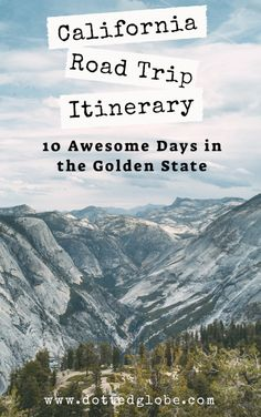 Looking for the best California Travel Guide? Read our Ultimate 10 Day California Road Trip Itinerary for must-visit places to see in California including San Francisco, Los Angeles, things to do along the Pacific Coast Highway and Big Sur, San Deigo, the Californian desert - Joshua Tree National Park and Death Valley, the Sierra Nevada mountain ranges, Lake Tahoe, Yosemite National Park and the Northern coast of California. #USATravel #California #roadtrips