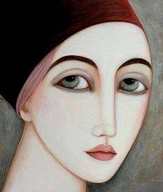 That almond shaped eye. (Faiza Maghni)