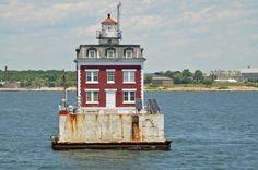 New London Ledge Light CT Lighthouse - ©️️ 2015 Kim Knox Beckius