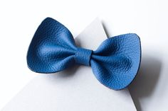 Handmade bow-tie made of leather by UNWEATHERED on Etsy https://www.etsy.com/listing/387016002/handmade-bow-tie-made-of-leather