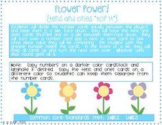 Classroom Freebies Too: Flower Power! (A New Math Game)
