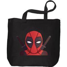 Bolsa de tela del heroe y mercenario mas gamberro de los comics, Deadpool