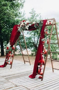 Fall outdoor wedding decorations for your ceremony. If you are planning a fall wedding take a look at this simple wedding ceremony decoration. Wedding Ceremony Ideas, Wedding Table, Diy Wedding, Wedding Events, Rustic Wedding, Wedding Backyard, Ceremony Backdrop, Garden Wedding, Budget Wedding
