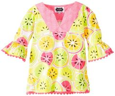 Mud Pie BabyGirls Newborn Citrus Cover Up Multi 912 Months ** Want to know more, click on the image. (This is an affiliate link) #BabyGirlDresses