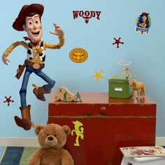 Features:  -Every Toy Story fan will love decorating with Woody.  -Pair him with…