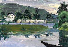 Wassily Kandinsky (1866-1944) Paysage avec pont