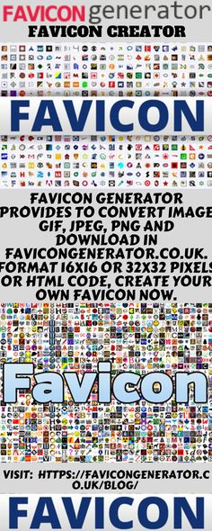 40 Best Favicon Generators images in 2019 | Root directory