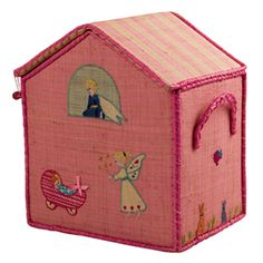 Doll House Toy Box