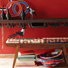 West Elm offers modern furniture and home decor featuring inspiring designs and colors. Create a stylish space with home accessories from West Elm. African Crafts, African Home Decor, African Interior Design, African Design, West Elm, Ethno Design, African Theme, African Style, African Room
