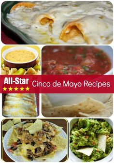 All-Star Mexican Food for Cinco de Mayo
