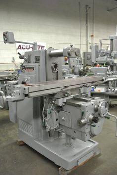 Kearney & Trecker horizontal mill located @ Machinery Consultants in Utah