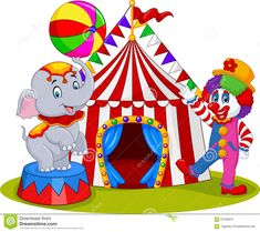 Resultado de imagem para circo desenho