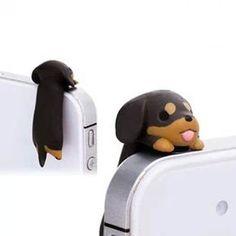 ★The Informationen Liebenswert schwarz braun hängend Dackel Hund Staub Stecker:  Wie alle wissen, ist der Staub der Killer Nr. 1 für Ihre Präzision und Geliebten Smartphone. Sehr praktisches und schönes Geschenk für sich selbst, Ihre Freunde und So weiter.  Kompatibilität: Für alle Handys und Tablets Die Staub-Stecker passen für alle Mobiltelefone und Tablets wie z.B.: Apple iPhone 6 s/6/Plus /5s/5c/5/4s/4/3Gs/3G/2G & more Samsung Galaxy S6/S5/S4/S3/S2/S und Anmerkung 5/4/3/2/1 & more LG…