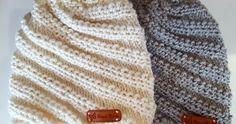 Kylmät ilmat tuovat mukanaan tarpeen lämpimälle pipolle. Kierrejoustimella neulottu pipo on helppo neuloa, valmistuu paksusta langast... Chrochet, Knit Crochet, Crochet Hats, Crochet Ideas, Pictures Of Hats, Handicraft, Mittens, Knitted Hats, Knitwear