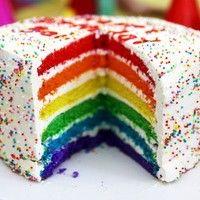 RESEP RAINBOW CAKE - Resep Kue Basah   Hobi Masak