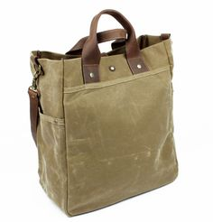 Workers N.Y., SoHo Bag. Quality canvas travel bag. Large leather and canvas day bag. Perfect carry-on. Made in USA.