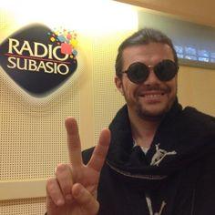 Gianluca #Grignani ospite a Radio Subasio