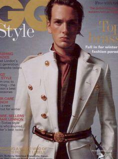 Federico Moyano GQ Style Magazine Cover