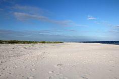 Bornholm, plaża w Dueodde