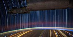 How To Take Photos Of Earth While Whizzing At 17,000 MPH