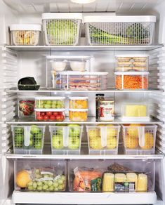 55 Practical Pantry Storages Ideas 55 Practical Pantry Storages Ideas - About small pantry storage, the majority of way is much alike the kitchen organization ideas. Small Pantry Organization, Fridge Storage, Refrigerator Organization, Organization Hacks, Kitchen Storage, Organized Fridge, Storage Drawers, Organised Home, Refrigerator Decoration