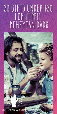 20 Gifts Under $20 for Hippie Bohemian Dads {Cool Father's Day Gift Guide 2020}
