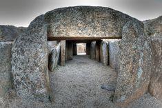 DOLMEN DE LÁCARA: cultura megalítica en España Badajoz