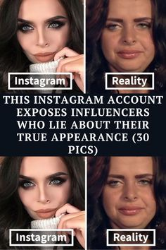 The 'Beauty False' Instagram account is dedicated to showing you the truth about how stars look without layers of makeup and excessive photo-editing.