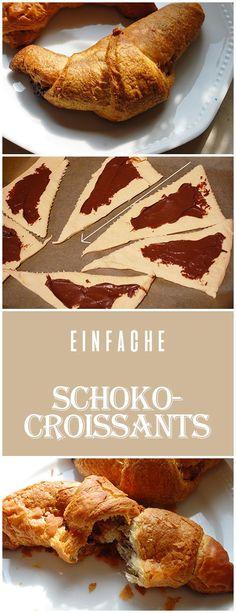 (Recipe) schnelle Schoko-Croissants -