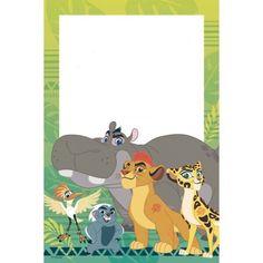Guardia del leon invitacion