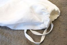 How to sew a linen bread bag