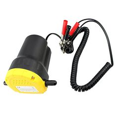 KATSU Mini Diesel Transfer Car Engine Oil Extractor Pump 12V 60W
