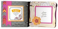 Mini Album (photo #2) with Dream Pop Paper Pack (May 2013) by Jody at Cre8n' Memories