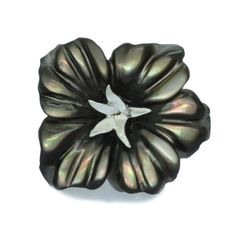 Men's Floral Lapel Pin. A perfect gift for a discerning dresser.  Www.babette-Wasserman.com