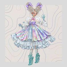 Fashion Illustration Collage, Illustration Art, Barbie Fashion Sketches, Creative Costuming Designs, Fashion Figure Drawing, Fashion Design Drawings, Creepy Art, Character Design Inspiration, Cute Art