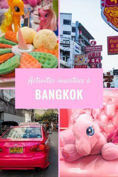 4 activités inusitées à faire dans la ville de Bangkok.