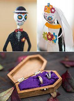 Frankie and Matt's Amazing Halloween /Day of the Dead Wedding! — Karen Menyhart Weddings - TodaysBride.com
