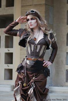 Steam Punk  Photographer: Annika von Stein    Model: Aidenn Queen