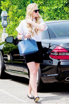 Jennifer Morrison leaves an office in West Hollywood, 4/11/14