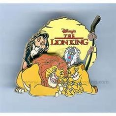 disney lion king pin I HAVE THIS PIN AHHHHHHHHHHHHHHHHH