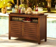 Buffet Server With Cooler Compartment Free Shipping Today 17996047 Deck Pinterest And Bed Furniture