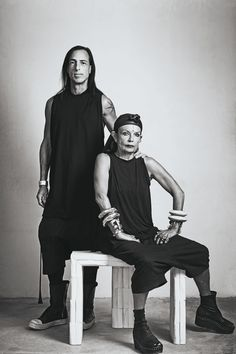 RICK OWENS & MICHELLE LAMY: FASHION'S DARK PRIEST AND PRIESTESS