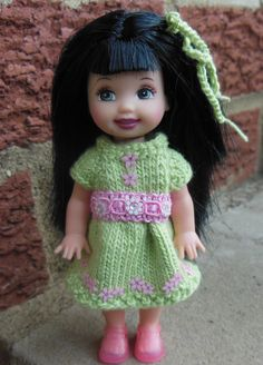 Knitted dress bamboo thread