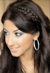Extraordinary Braided Headbandl Hairstyles For School Girls