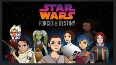 Star Wars: Forces Of Destiny(2017)>>>> saw the first episode yesterday. It was okay... I just want to see anakin lol