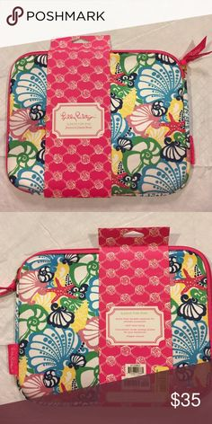 Lilly Pulitzer Chiquita Bonita iPad Sleeve Popular Chiquita Bonita Print. Padded and perfect for traveling with an iPad! Lilly Pulitzer Accessories Tablet Cases