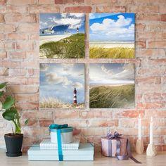 Glasbild #mehrteilig - #Dünenträume 4-teilig #Glasbilder #Glasbild #BildausGlas #BildaufGlas #Highlights #GlasbildKüche #Spritzschutz #3D #Bild #Echtglas