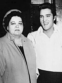 """( 2017 IN MEMORY OF ★ † GLADYS SMITH ★ † ELVIS PRESLEY. ) ★ † Gladys Smith - Thursday, April 25, 1912 - Pontotoc County, Mississippi, USA. † Died; Thursday, August 14, 1958 (aged of 46) Memphis Shelby County Tennessee, USA.(heart attack). ★ † ♪♫♪♪ Elvis Aaron Presley - Tuesday, January 08, 1935 - 5' 11¾"""" - Tupelo, Mississippi, USA. † Died; Tuesday, August 16, 1977 (aged of 42) Memphis, Tennessee, U.S. Resting place Graceland, Memphis, Tennessee, USA.(cardiac arrhythmia)."""